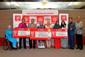 HDS rai pemenang terima wang tunai lebih RM200,000