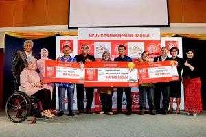 Pembantu Guru Tabika Menang Wang Tunai RM150,000