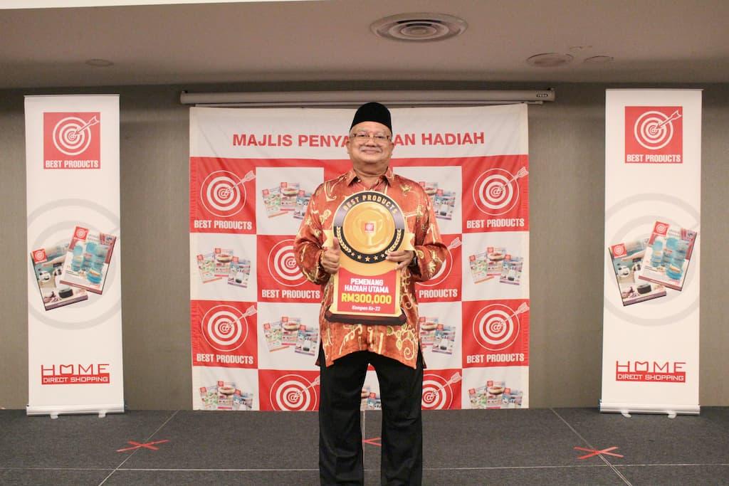 1st Winner - Zakaria